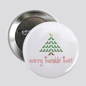 "Merry Twinkle Toes 2.25"" Button"
