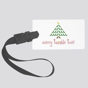 Merry Twinkle Toes Luggage Tag