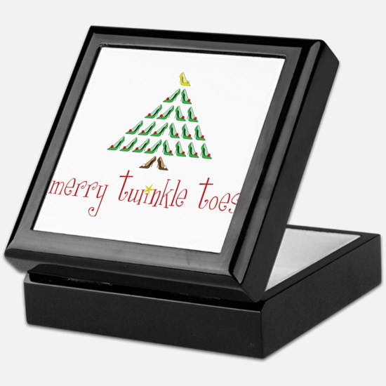 Merry Twinkle Toes Keepsake Box