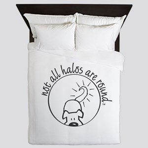 Not All Halos are Round Queen Duvet