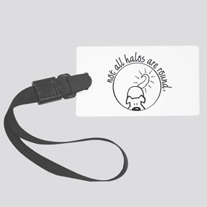 Not All Halos are Round Luggage Tag