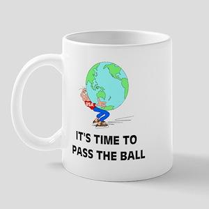 PASS THE GLOBE Mug