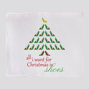 All I Want Throw Blanket