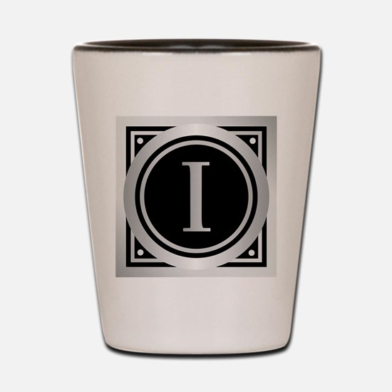 Deco Monogram I Shot Glass