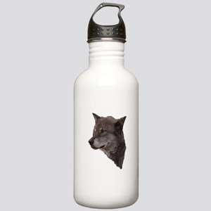 Portrait of a Wolf Stainless Water Bottle 1.0L