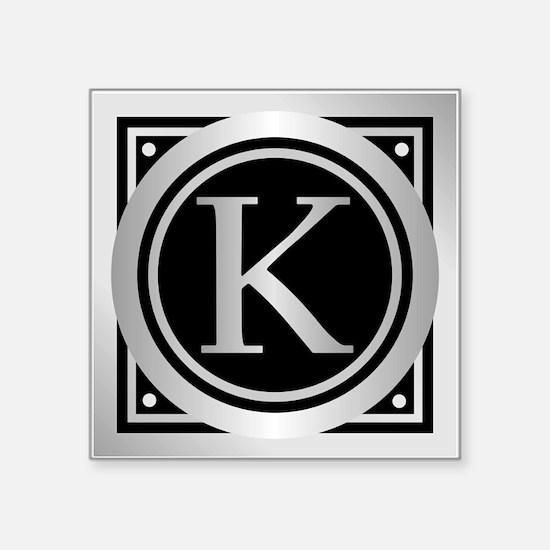 Deco Monogram K Sticker