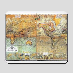 Nautical World Mousepad