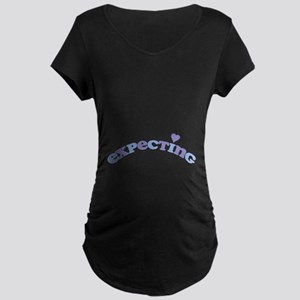 Expecting Boy Maternity Dark T-Shirt