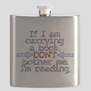 Im reading. Flask