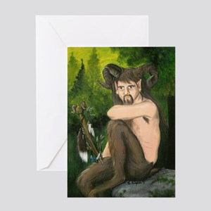 Lord Of The Wildwoods Greeting Cards