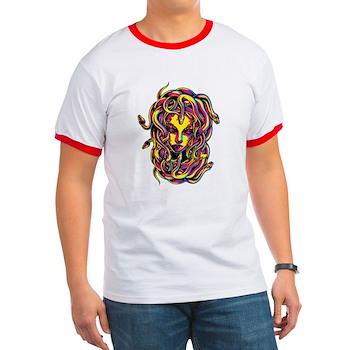 CMYK Medusa Ringer T-Shirt