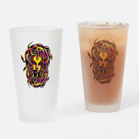 CMYK Medusa Drinking Glass