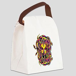 CMYK Medusa Canvas Lunch Bag