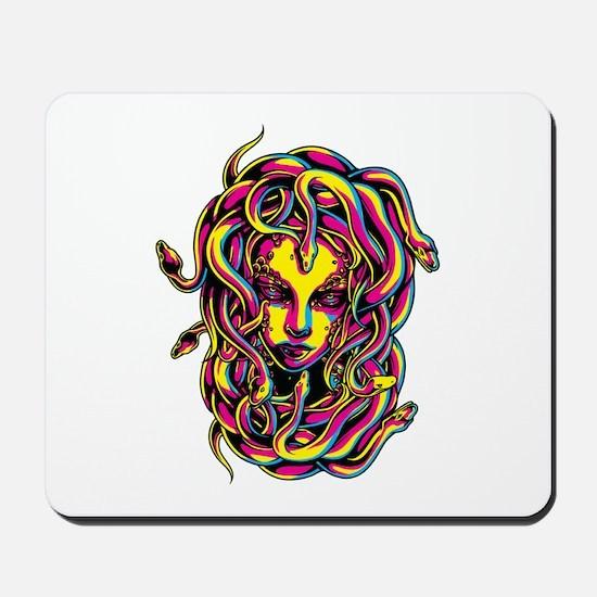 CMYK Medusa Mousepad
