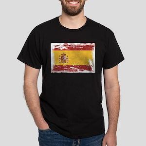 Grunge Spain Flag T-Shirt