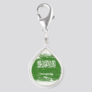 Grunge Saudi Arabia Flag Charms