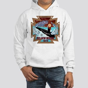 Personalized Uss New Mexico Hooded Sweatshirt