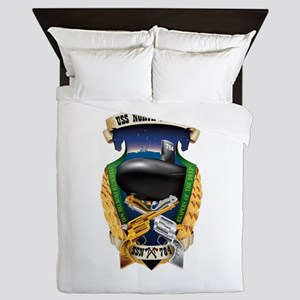 Uss North Dakota Ssn-784 Queen Duvet