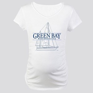 Green Bay.packers Maternity T-Shirts - CafePress fe5a33daa