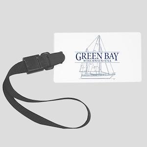 Green Bay - Large Luggage Tag