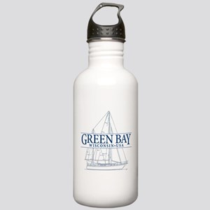 Green Bay - Stainless Water Bottle 1.0L