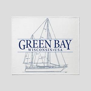 Green Bay - Throw Blanket