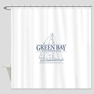 Green Bay - Shower Curtain