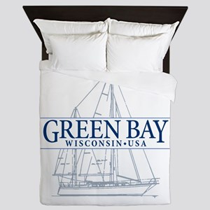 Green Bay - Queen Duvet