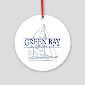 Green Bay - Ornament (Round)