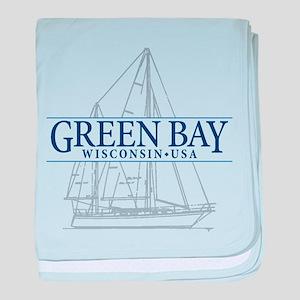 Green Bay - baby blanket