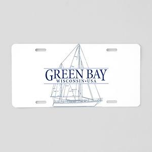 Green Bay - Aluminum License Plate
