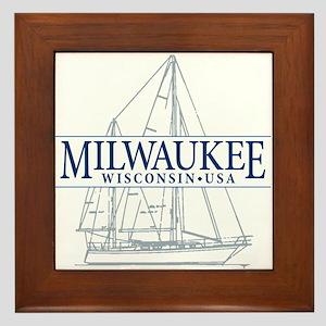 Milwaukee - Framed Tile