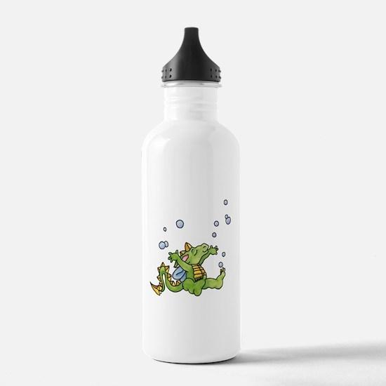 Rainbow Crayon Water Bottle