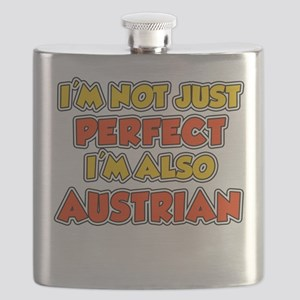 Not Just Perfect Austrian Drinkware Flask