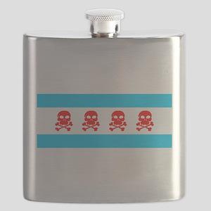 chicago-flag-skulls 1900x1170 Flask
