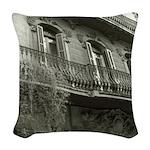 Punto de Vista Woven Throw Pillow