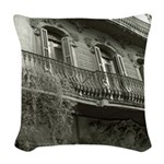 Punto de Vista Woven Throw Pillow