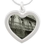 Punto de Vista Silver Heart Necklace