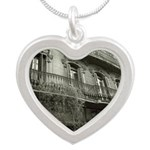 Punto de Vista Silver Heart Necklace