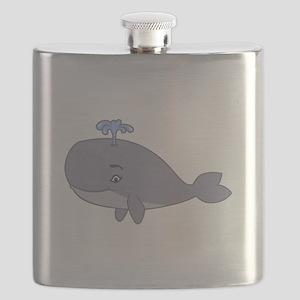 Cute Whale Flask