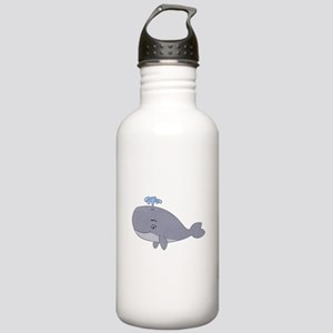 Cute Whale Water Bottle