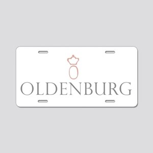 11x11_oldenburg2 Aluminum License Plate