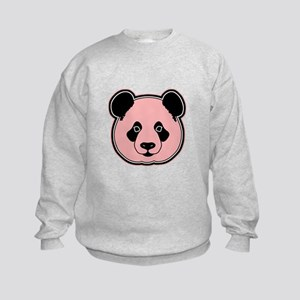 panda head melon Kids Sweatshirt