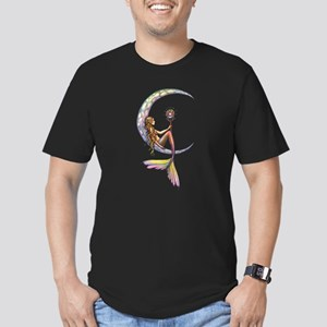 Mermaid Moon Fantasy Art T-Shirt