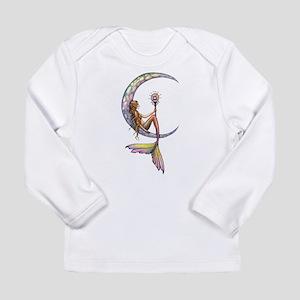 Mermaid Moon Fantasy Art Long Sleeve T-Shirt
