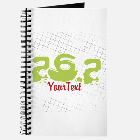 CUSTOMIZE Festive 26.2 Marathon Journal