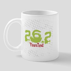 Customize Festive 26.2 Marathon (left) Mugs