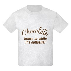 Chocolate Is Outtasite T-Shirt