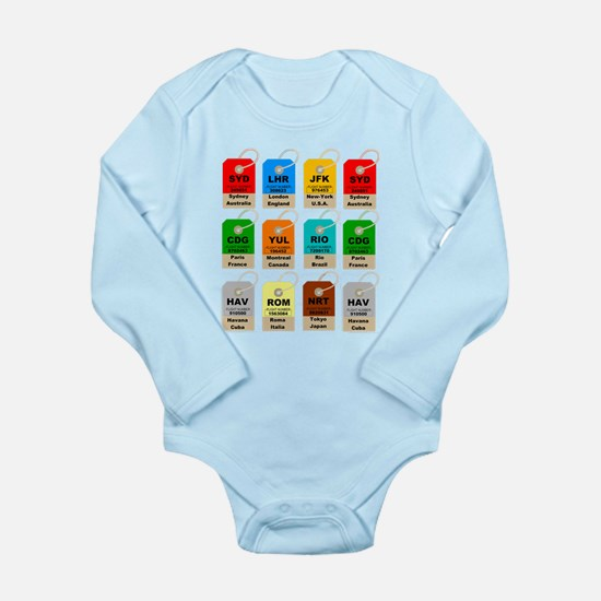 Airport city codes Body Suit