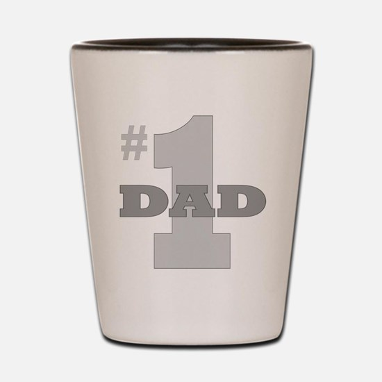 Number One Dad Shot Glass